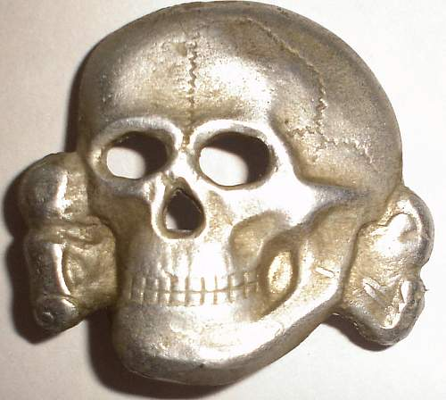 visor skulls and bullion Officer eagle