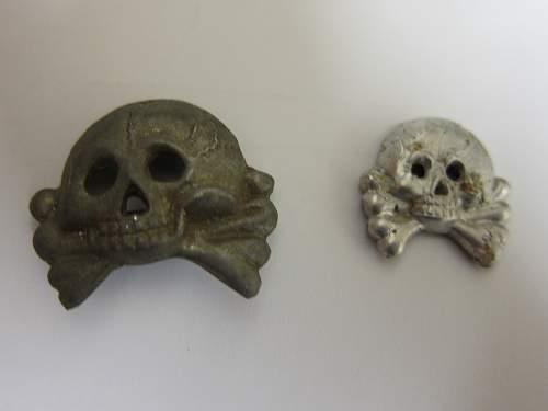 Two Totenkopfs. Baffled???