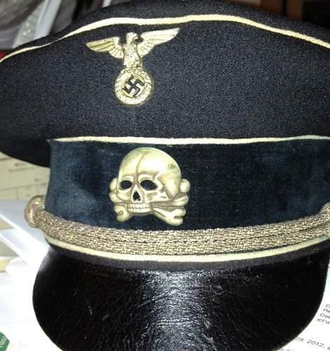 499/41 - Fritz Zimmermann Totenkopf fake or real?