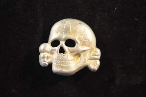 SS Cap skull