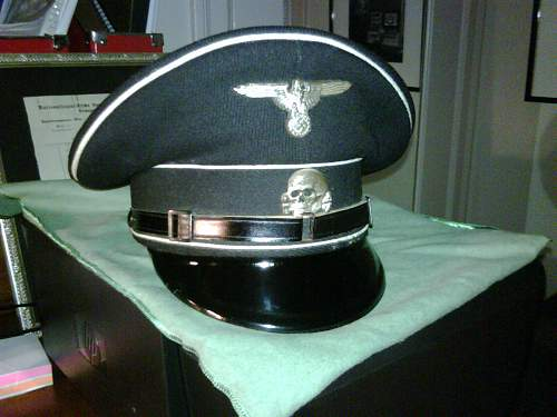 Unmarked Aluminum SS Visor Eagle