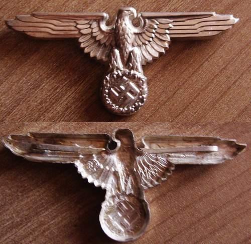 rare SS cap eagle