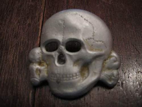 SS? Panzer? Cap Skull:  Real or Fake?