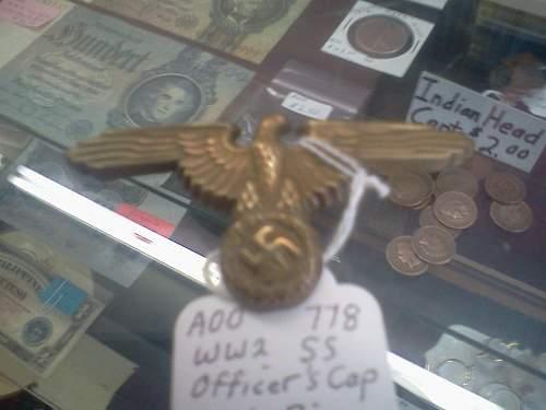 SS VISOR CAP EAGLE...Thoughts?