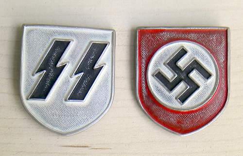 SS Tropenhelm insignia: Original or fake?