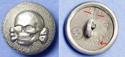 SS VT cap skull button 1194/40?