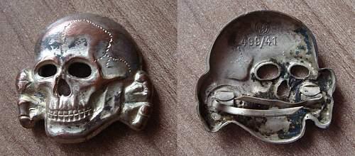 Skull Cap Badge RZM 499/41
