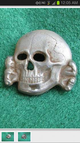 Zimmerman Totenkopf on eBay.