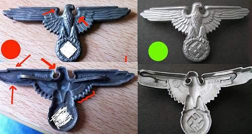 SS visor eagle M1/72