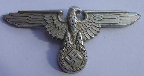 SS Cap eagle 475/39