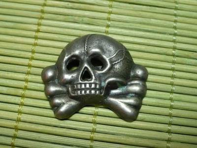 Early Pattern SS cap skull