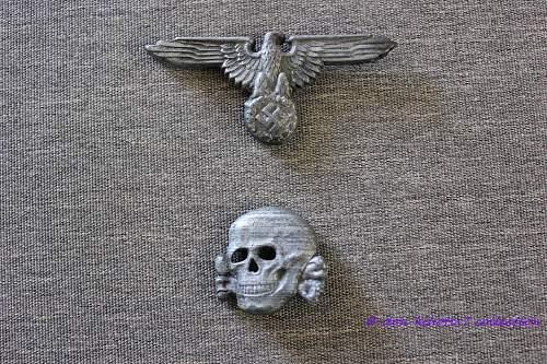 My first set Eagle + Skull