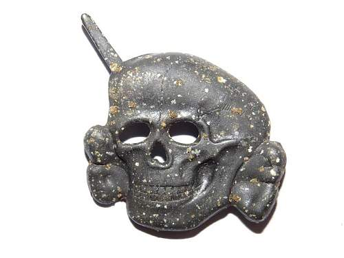 Please help with unmarked SS Cap Skull