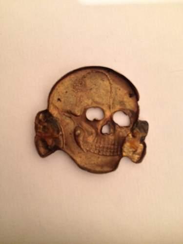 SS cap skull bought in 1967