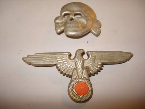 SS cap- eagle