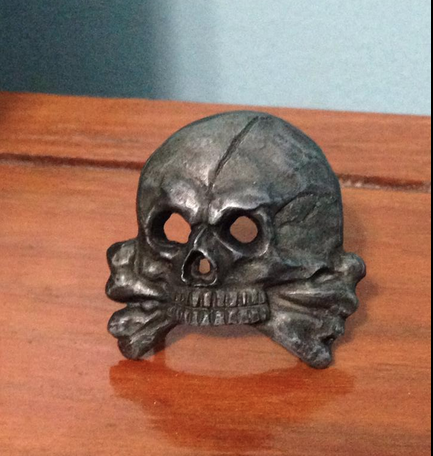 Totenkopf,Looks like a repro to me? Marked 5/8