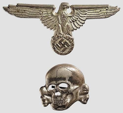 SS totenkopf pin/badge authentic?
