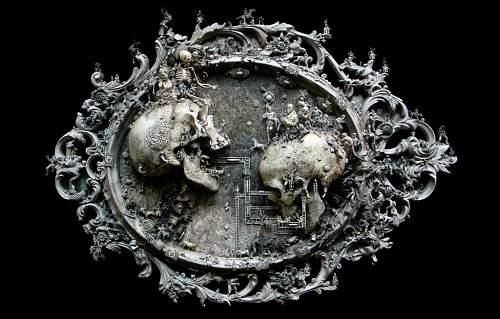 Click image for larger version.  Name:Skull 18 - Kris Kuksi.jpg Views:41 Size:177.0 KB ID:694901