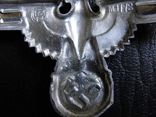 M1/72 mint SS aluminium cap eagle !