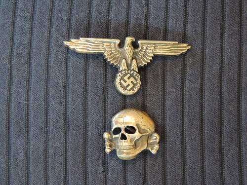 "Deschler Skull, and Assmann Eagle marked ""800""."