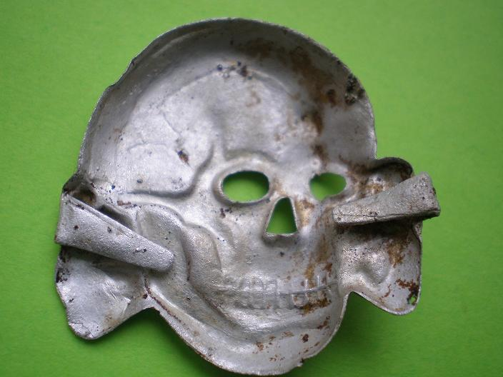 aluminium skull