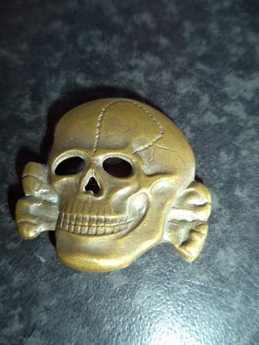 first ss skull... real or fake ????