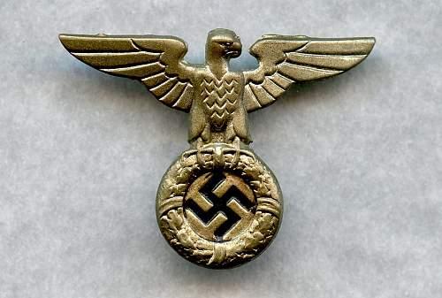 Early SS/SA Cap Eagle?