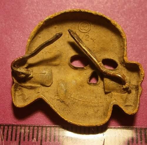 Skull for hat?