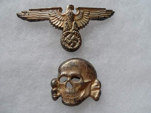 SS Cap Skull and Eagle for review