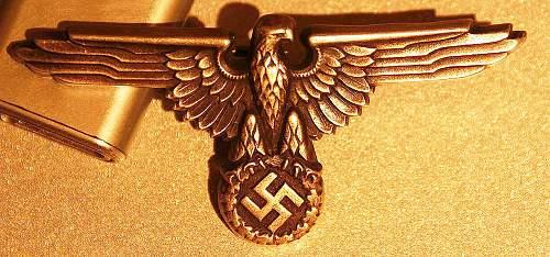SS cap eagle 1936 pattern