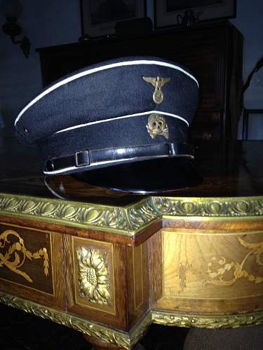 SS Cap Skull unmarked