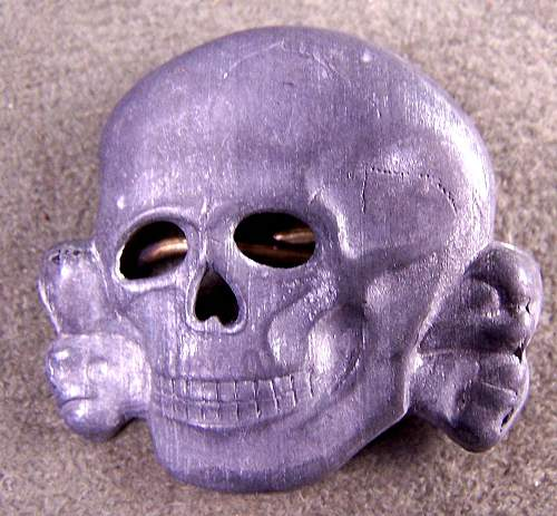 Did they make SS skulls from Silver?