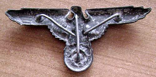 SS Slowakjan cap eagle
