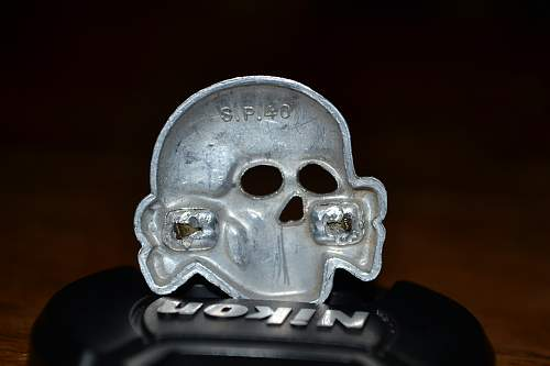 Aluminium S.P.40 skull