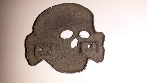 relic ss visor insigna