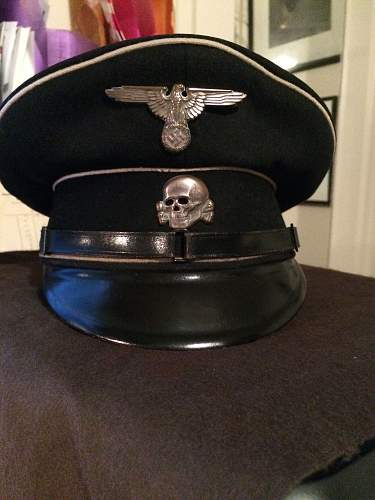 SS Cap Eagle RZM 41 Marked