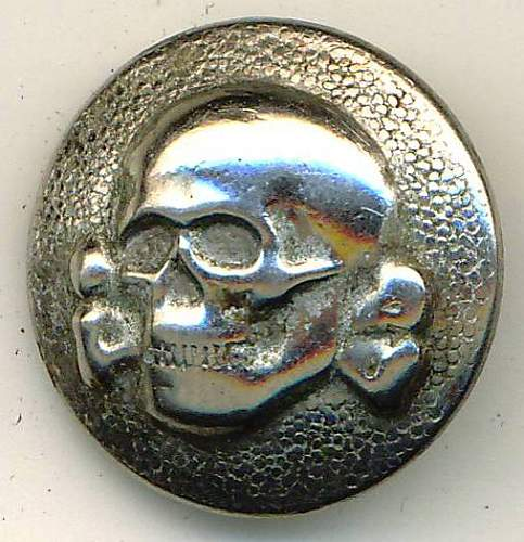 SS-VT Cap Skull Button - Original/Fake?
