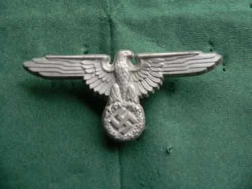 SS visor eagle for review