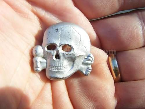 M1/24 Overhoff Skull in Zinc - Your Thoughts?