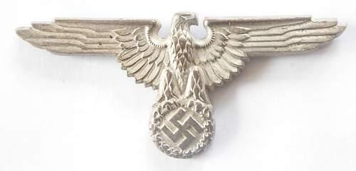 Hoheitszeichen fuer SS Muetze
