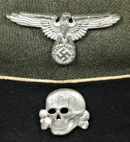 SS Cap Insignia  --  Yiour Opinions Please