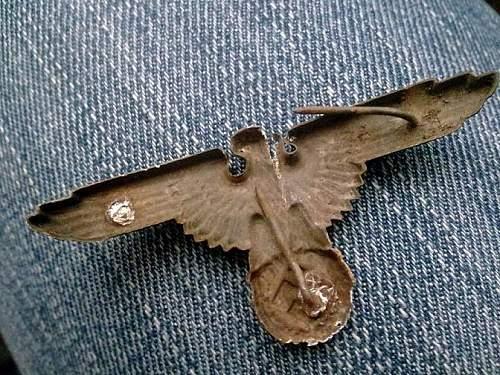 SS zinc eagle, original?
