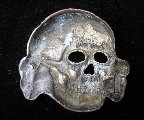 deschler skull never seen pins