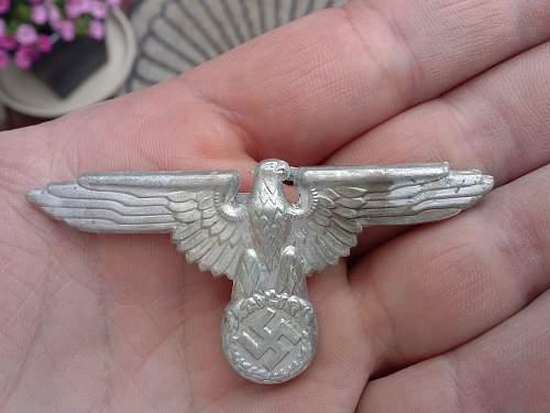 Ss cap eagle metal ??
