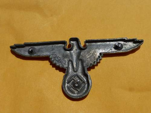 SS eagle 475/42 Zinc - Original/Fake?