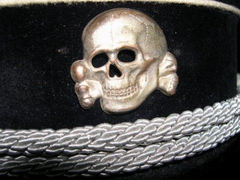 Ss scull cap insignia - authentic??