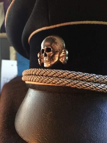 Just got my first Visor Cap Skull!