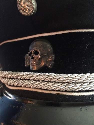 Deschler skull TK on General's visor - what eagle?