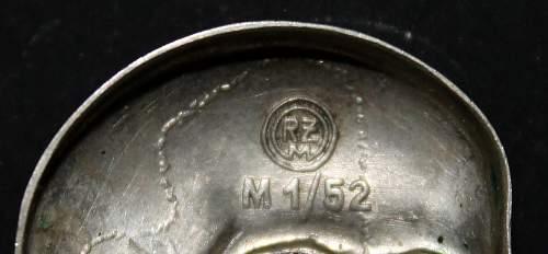 Early specs Deschler M1/52 TK