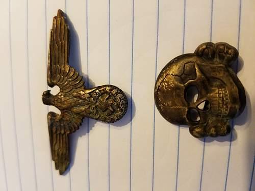 Weird Fake Skull and Eagle